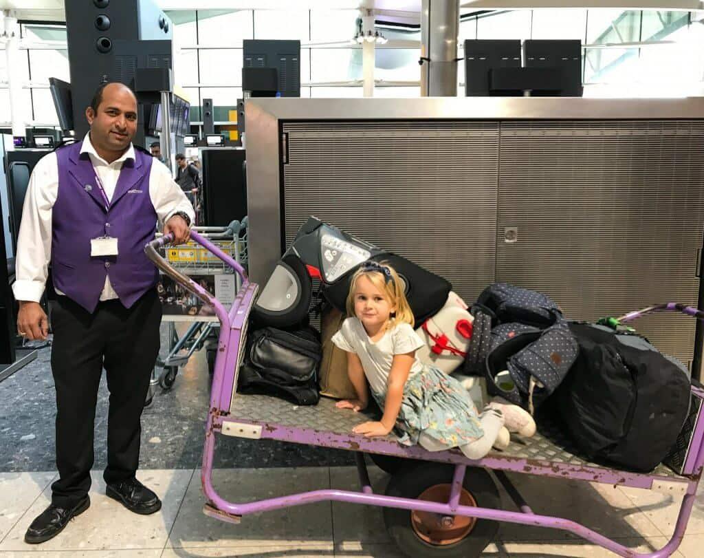 heathrow airport porter