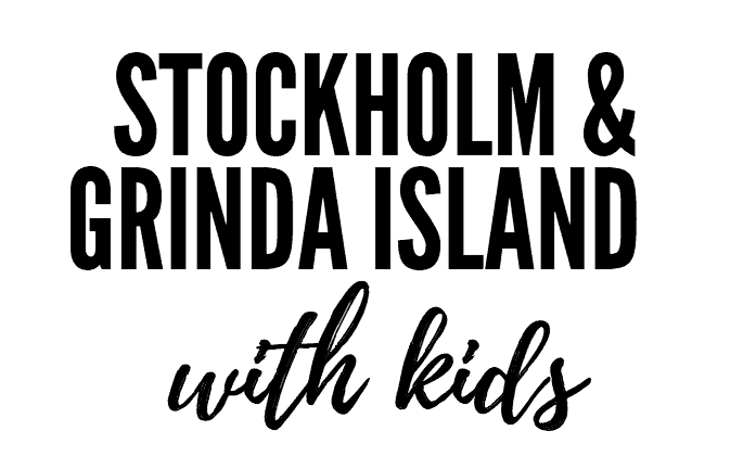 Stockholm with kids pin