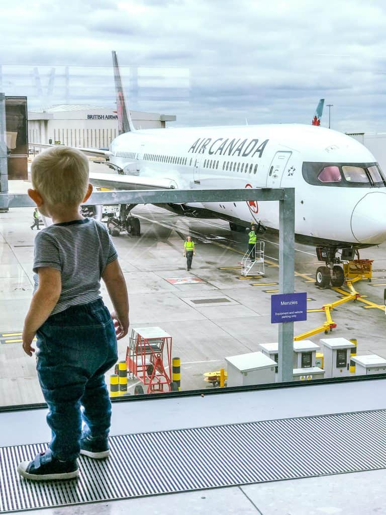 Family Travel with Air Canada