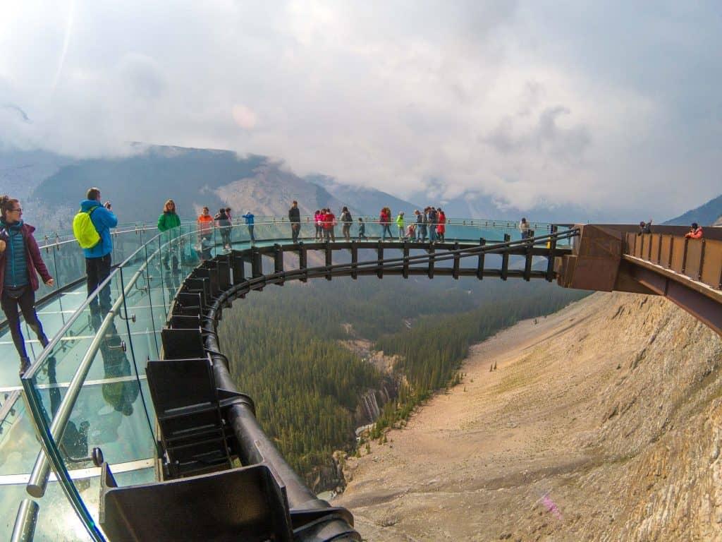 Glacier Skywalk - Jasper National Park, Alberta