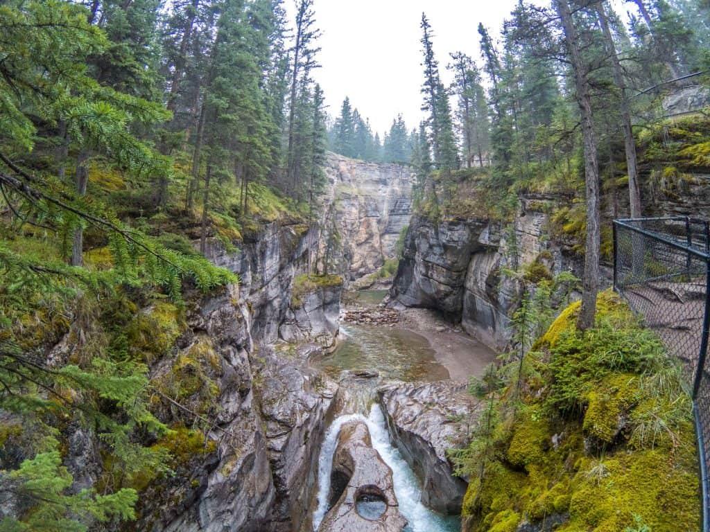 Maligne Canyon, Jasper National Park, Alberta, Canada