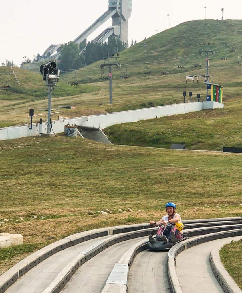 Things to do in Alberta, Canada - Calgary Skyline Luge