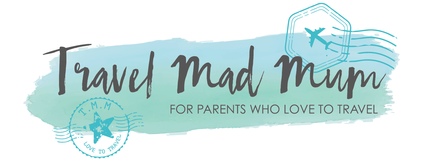 Travel mad mum Logo