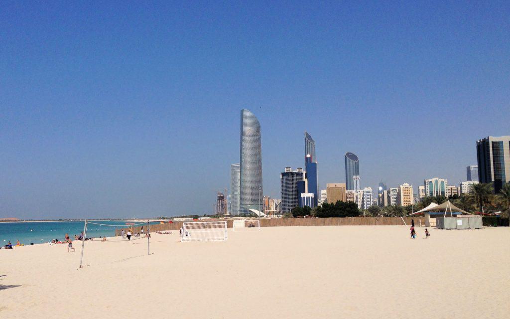 ABU DHABI CORNICHE BEACH