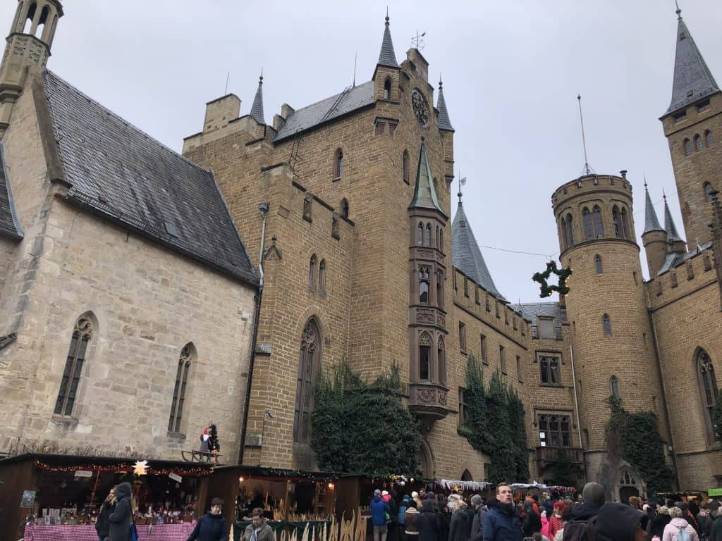 German xmas markets - castle