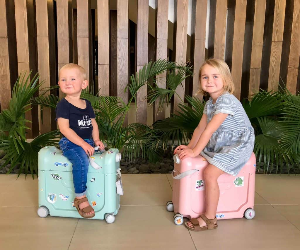 flying with kids tips - JetKids BedBox