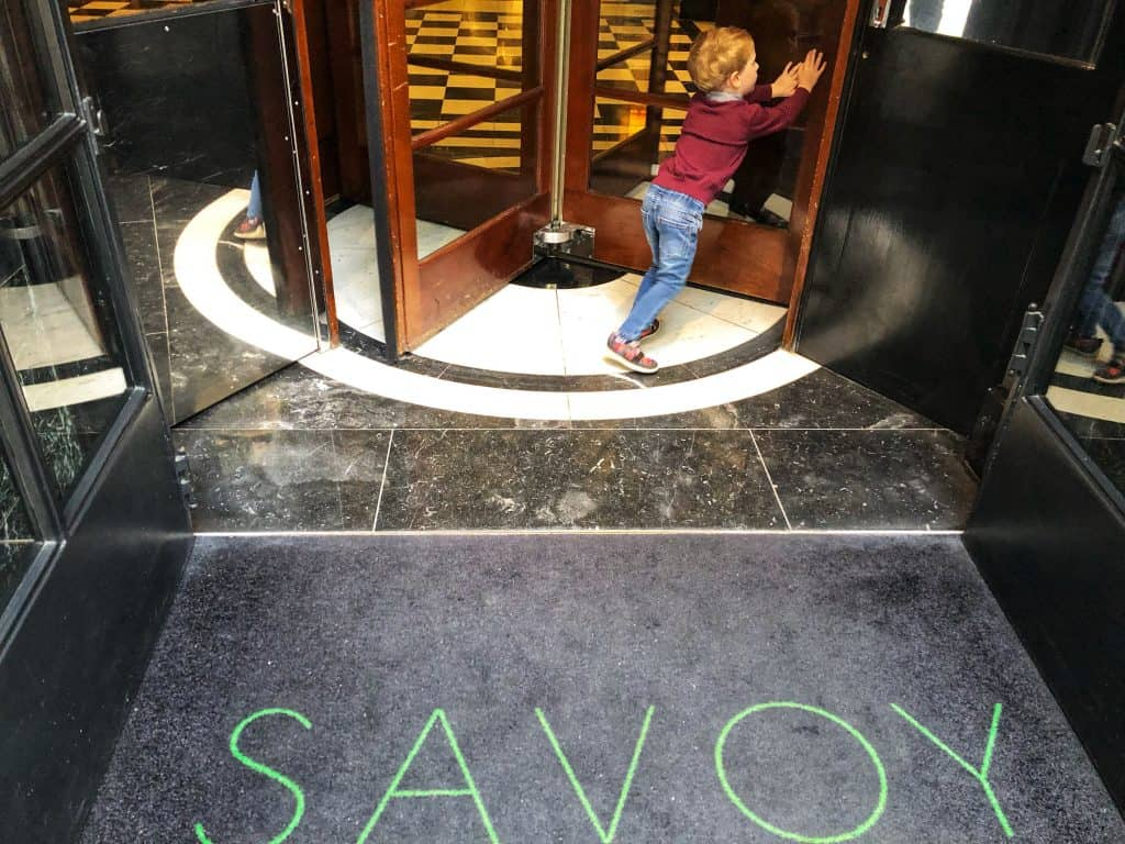Afternoon tea in London with kids The Savoy