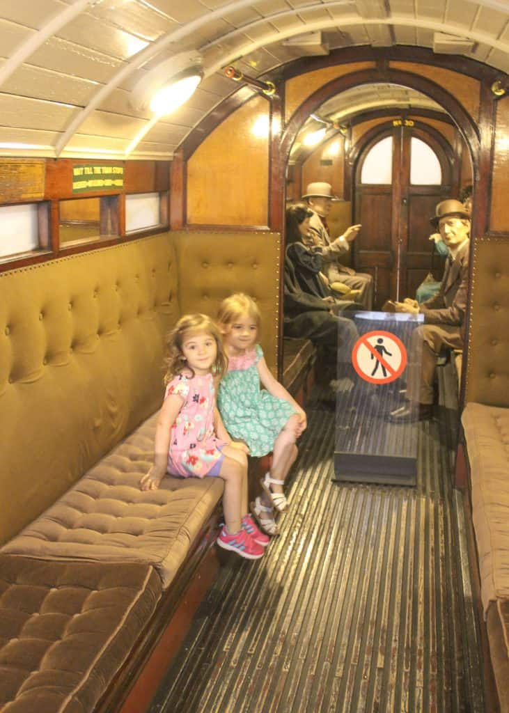 London Transport Museum with Kids Bus