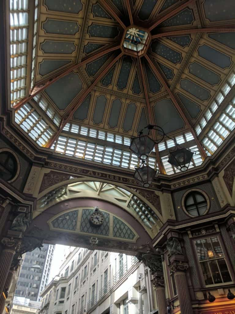 Bank of England Day Trip - Leadenhall Market #london #leadenhallmarket #travel