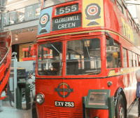 The London Transport Museum Bus