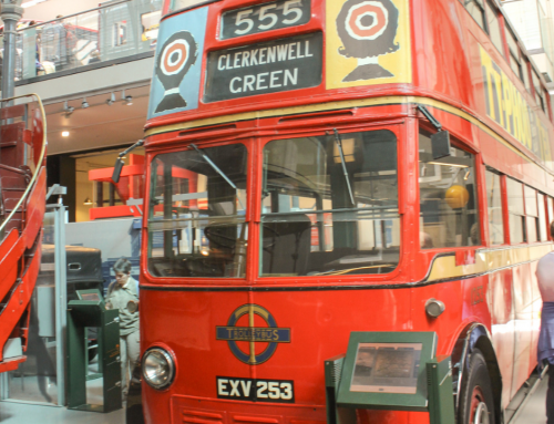 LONDON TRANSPORT MUSEUM WITH KIDS