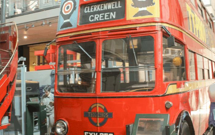 The London Transport Museum Bus