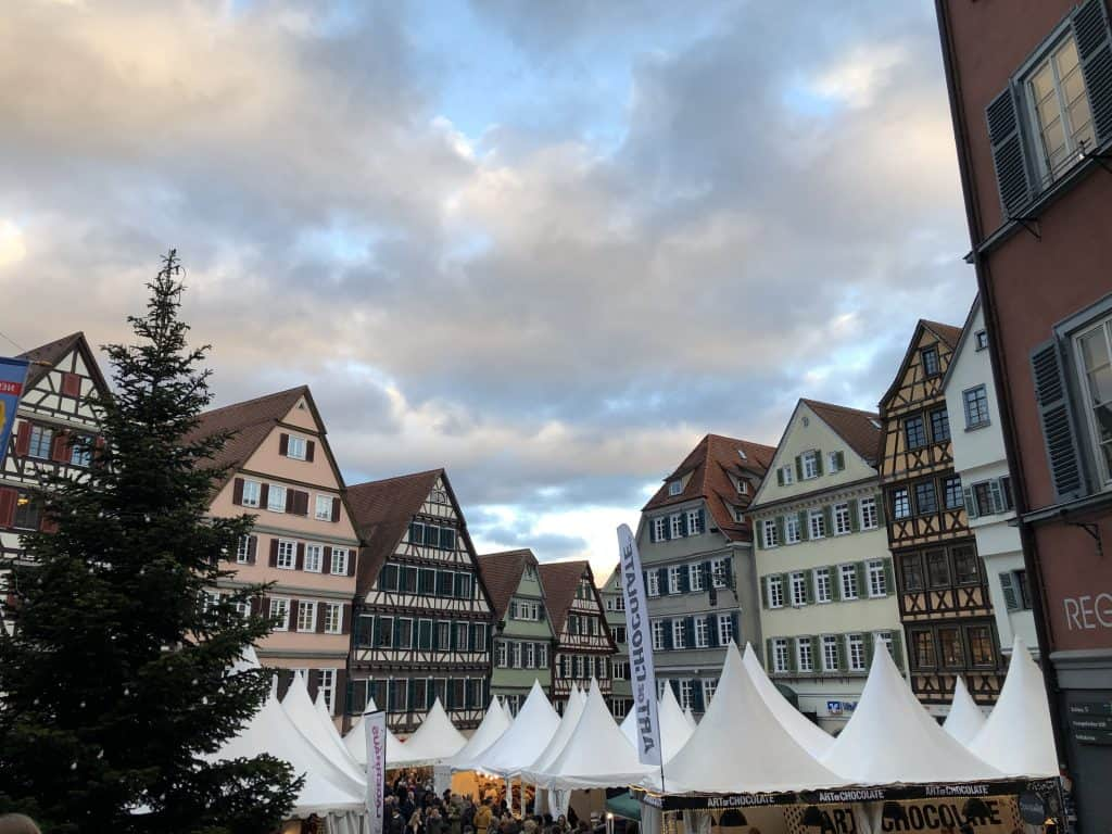 Christmas market in Tubingen