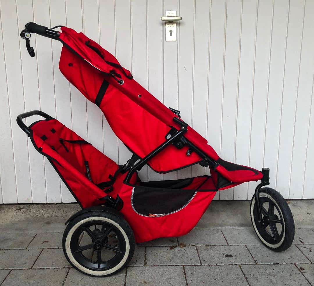 BEST TRAVEL STROLLERS - Phil and Ted's Double Stroller