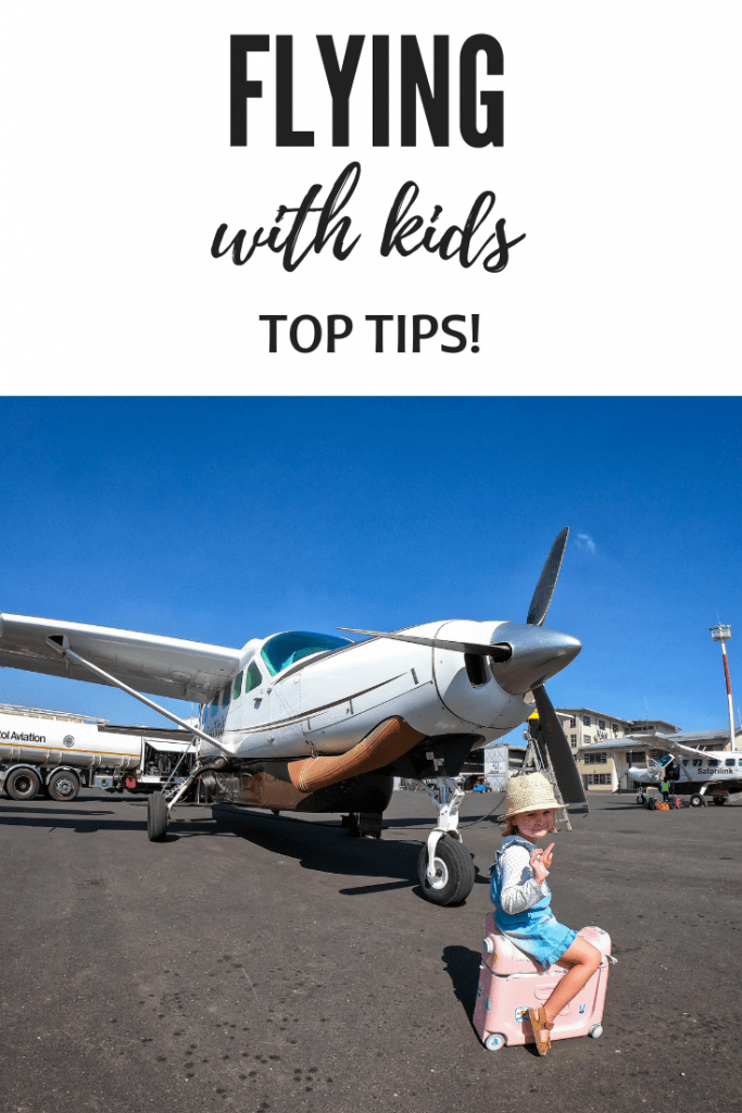 flying with kids tips