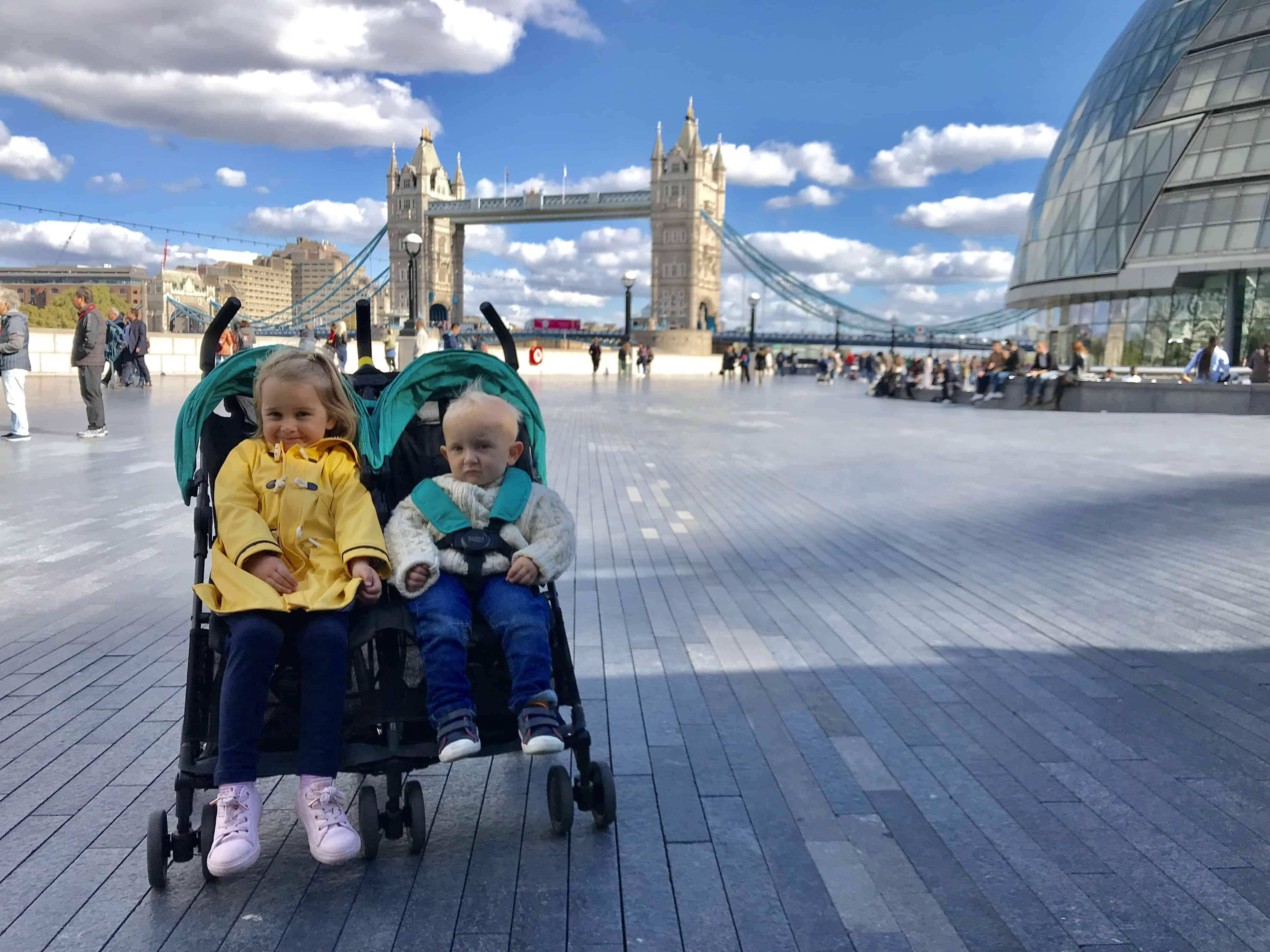 the best travel puschairs - Britax Holiday Double