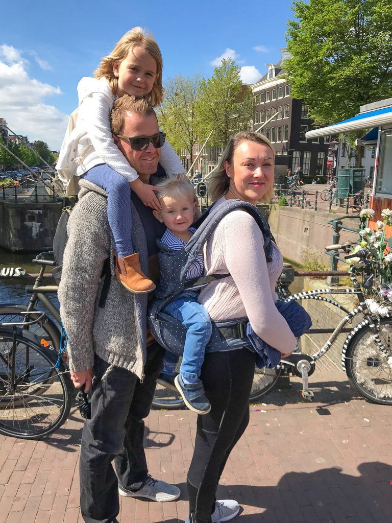 amsterdam with a toddler