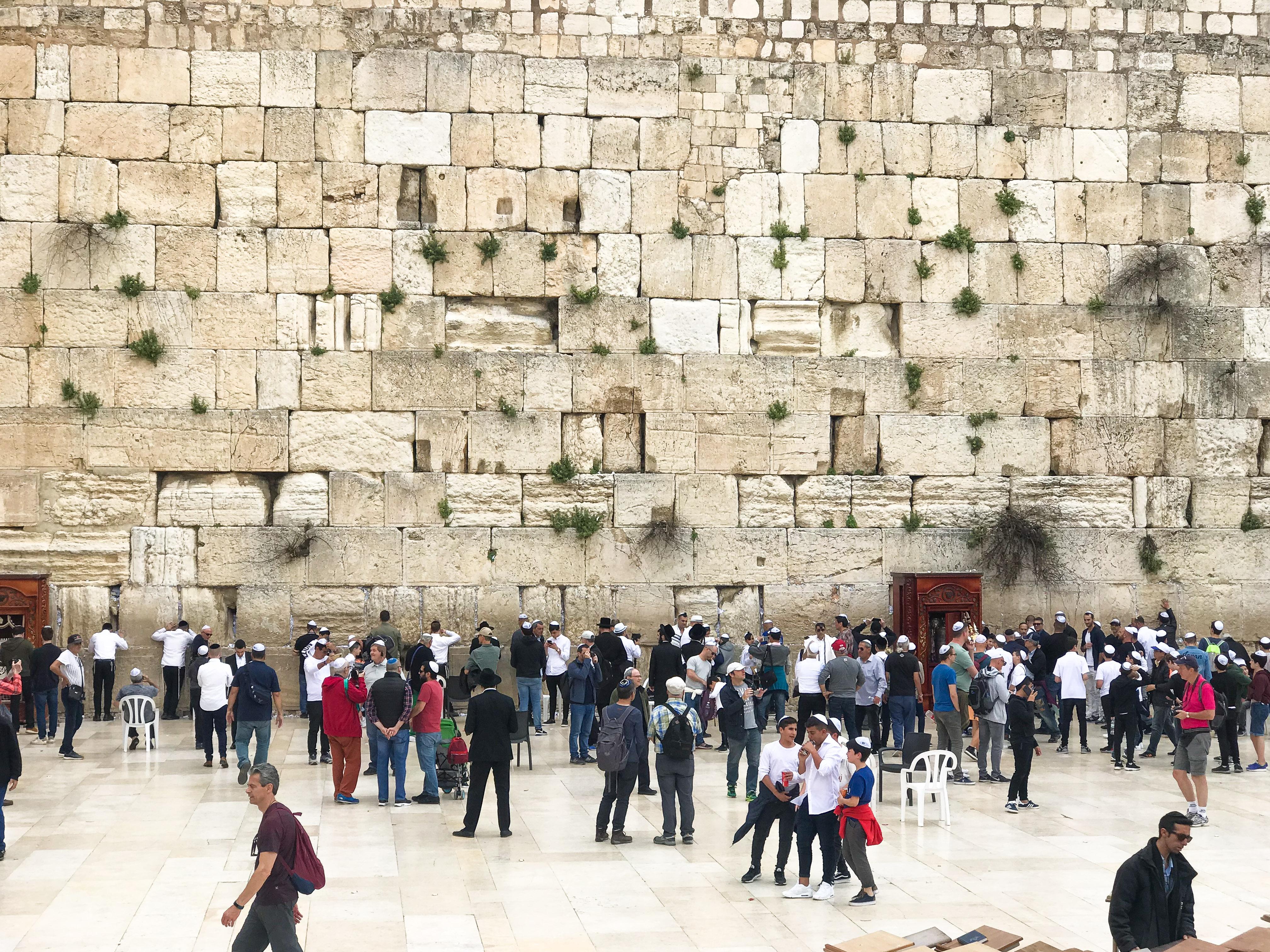 Jerusalem Kids - Western Wall - Wailing Wall