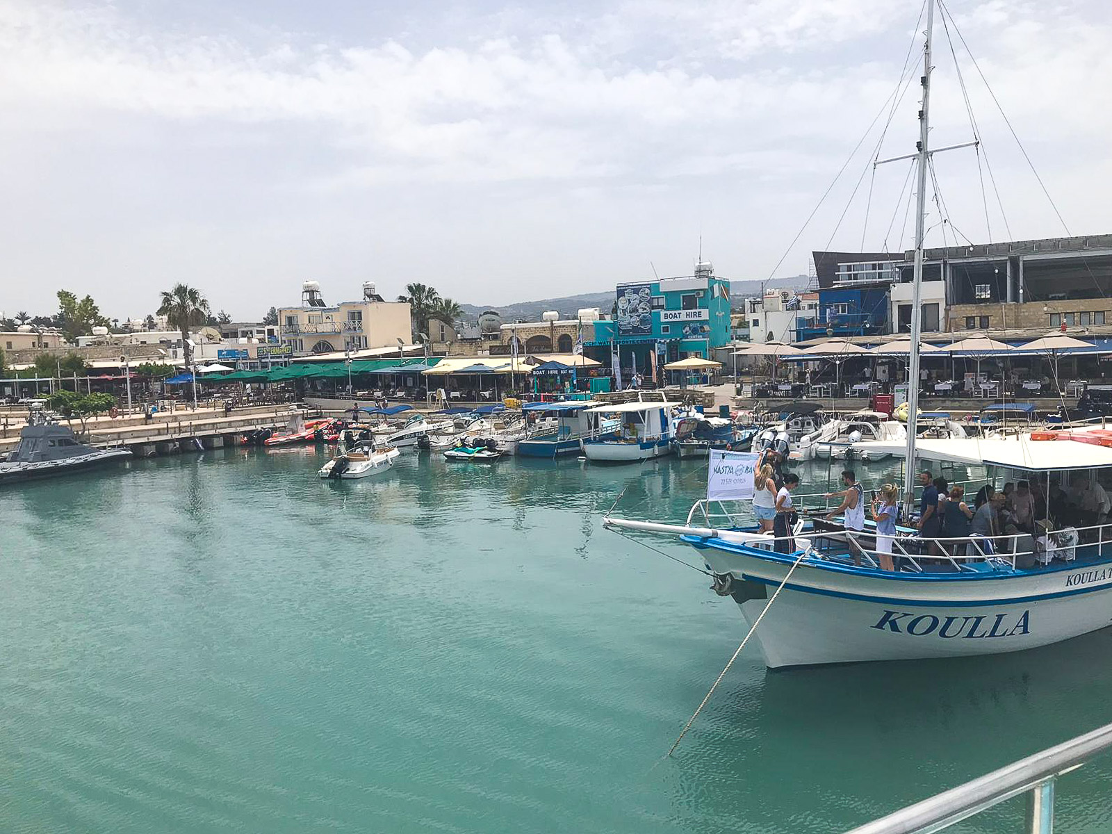 what to see in paphos - Latchi Harbour