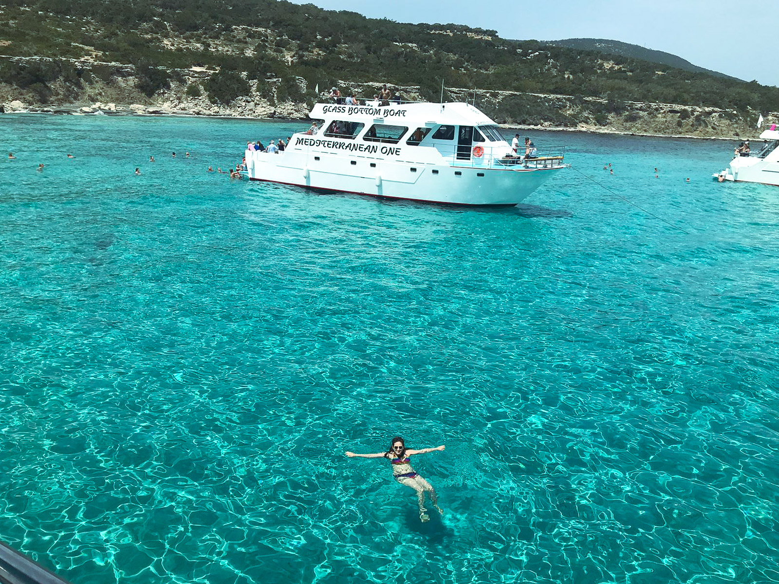 paphos cyprus things to do - Blue Lagoon Cruise