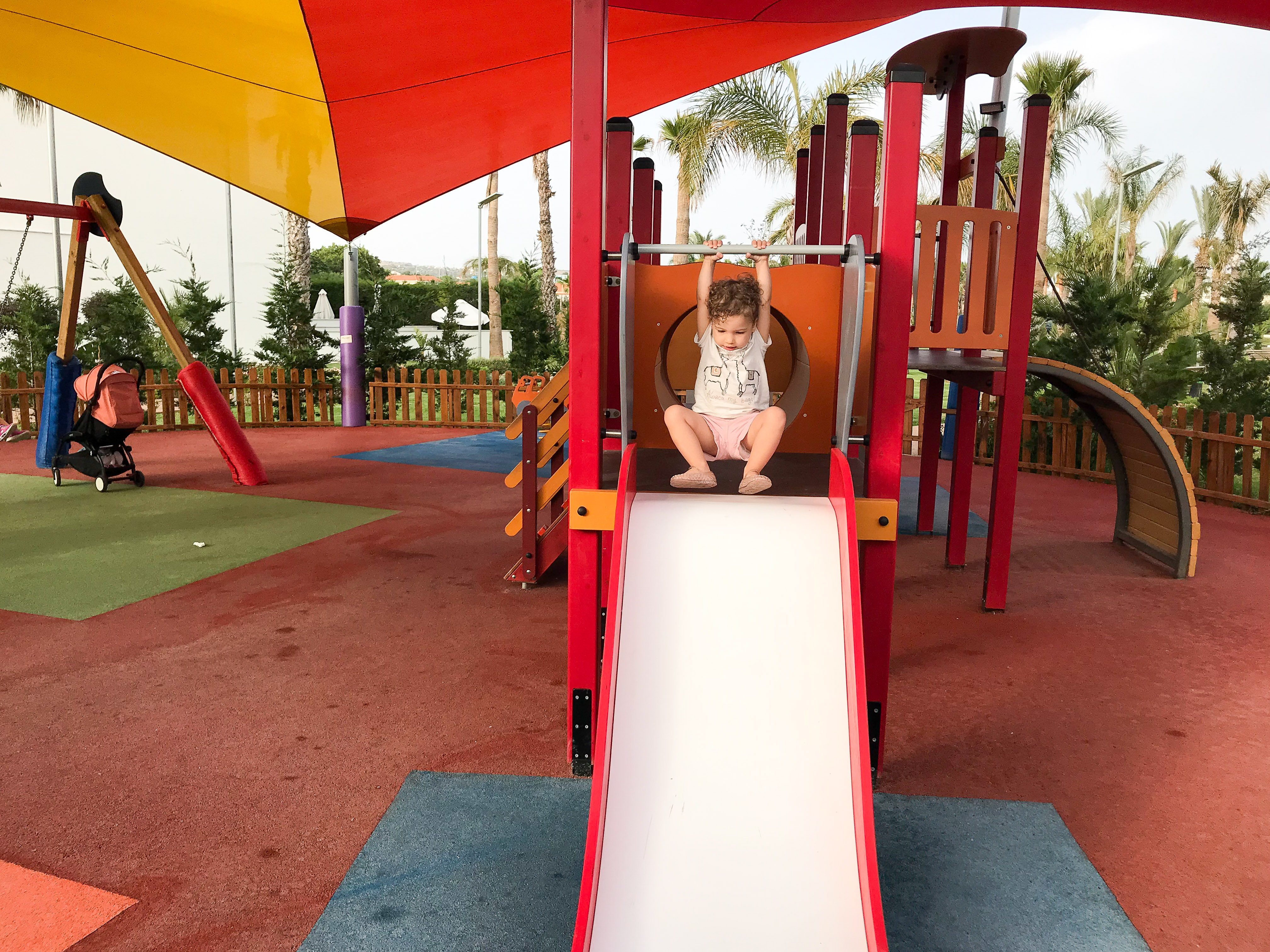 family friendly hotels cyprus - Olympic Lagoon Resort Ayia Napa Playground