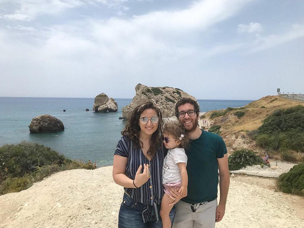 cyprus places to visit - Petra Tou Romiou - Aphrodite's Rock