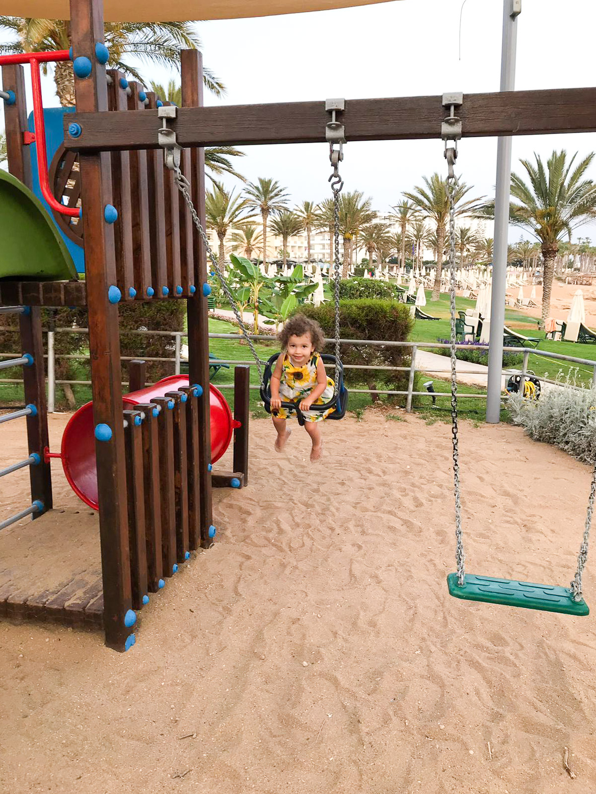 best family hotels in cyprus - Athena Beach Hotel Playground