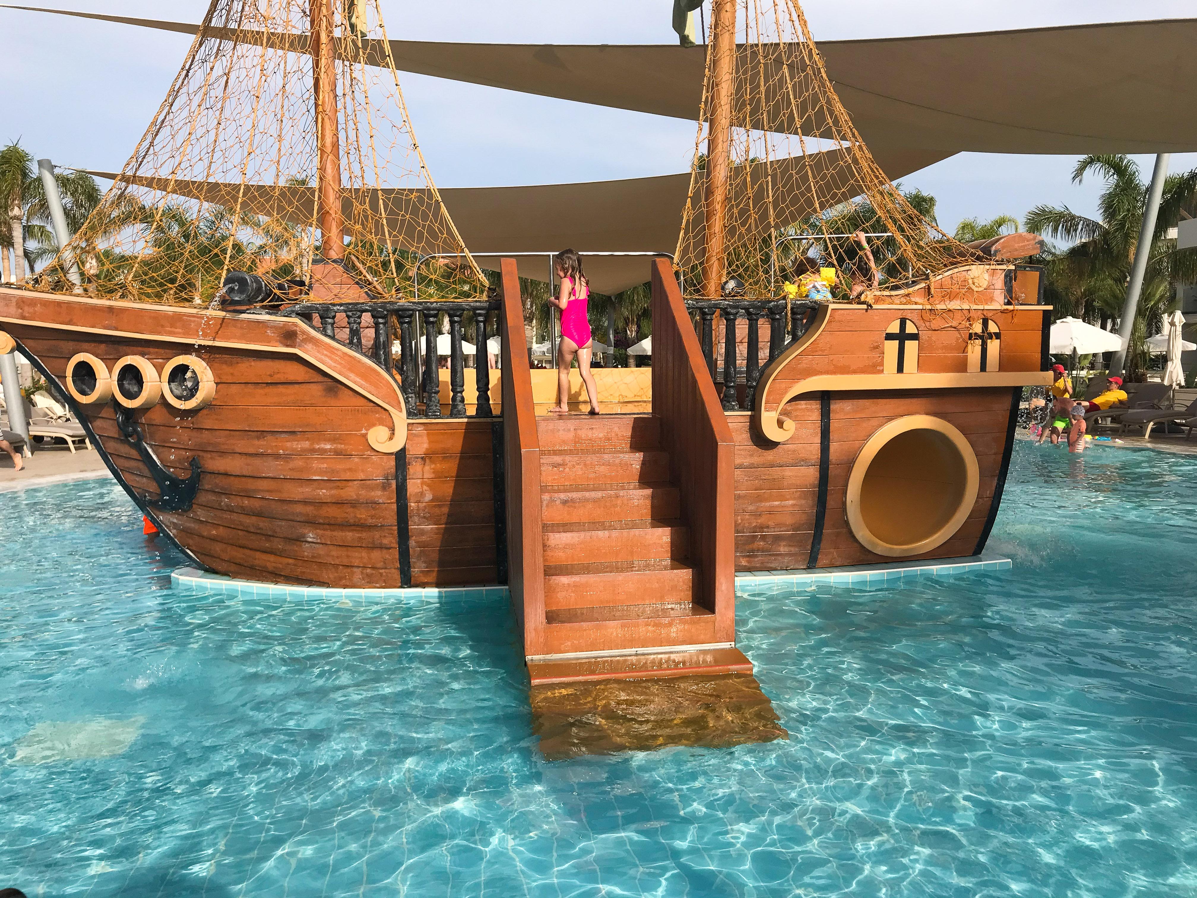 family hotels cyprus - Olympic Lagoon Resort Kid's Pool
