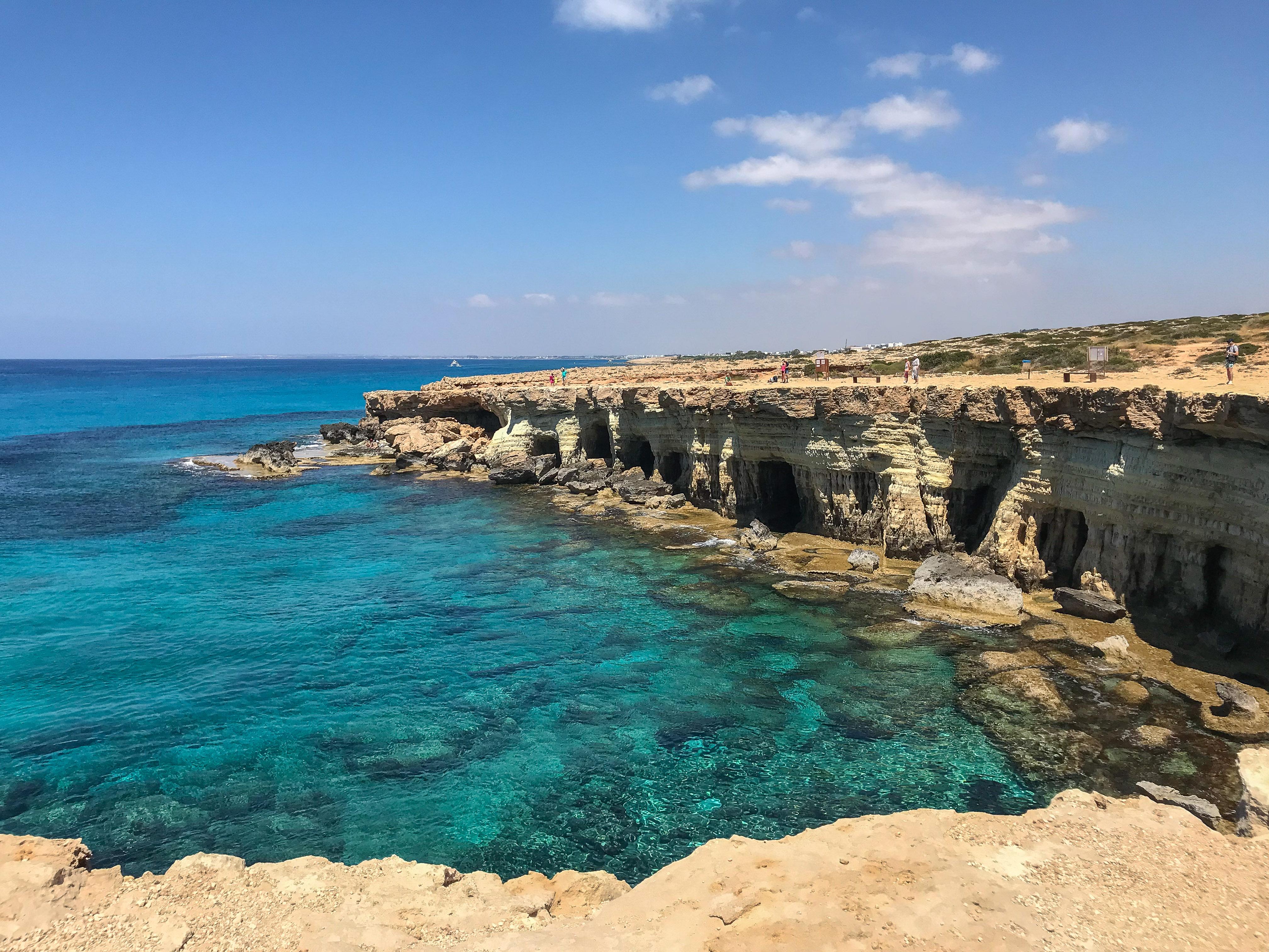 things to do near ayia napa - Cape Grekko Sea Caves