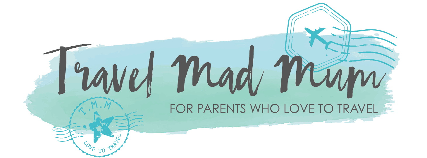 Travel mad mum Logo