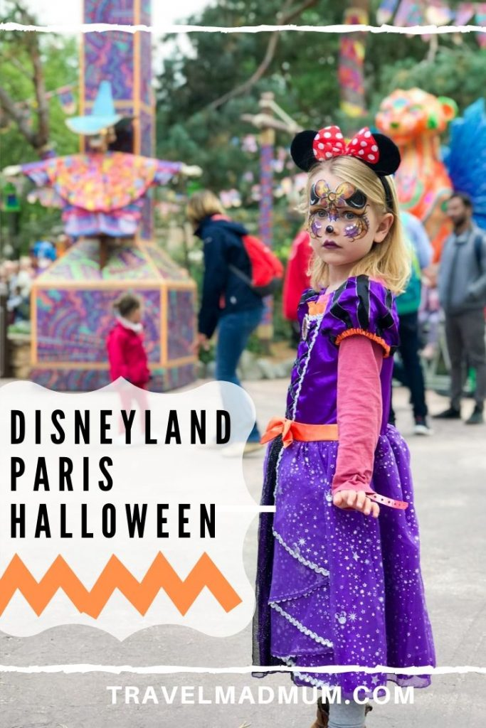 Disneyland Paris Halloween Trip