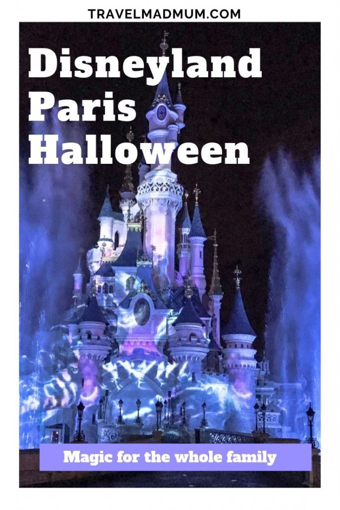 Disneyland Paris Halloween trip with kids. #travelmadmum #halloween #disney #disneyland #paris