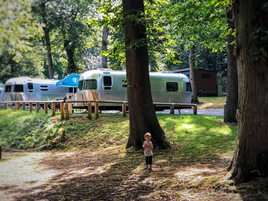 Where to stay in london with kids - airstream