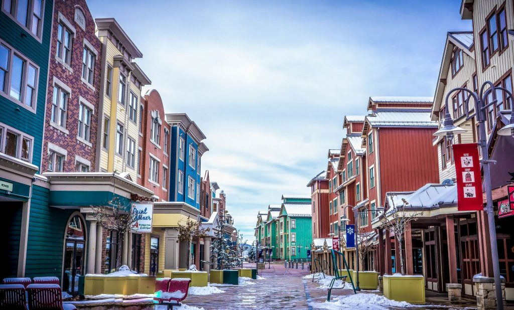 thanksgiving vacation ideas - Park City, Utah