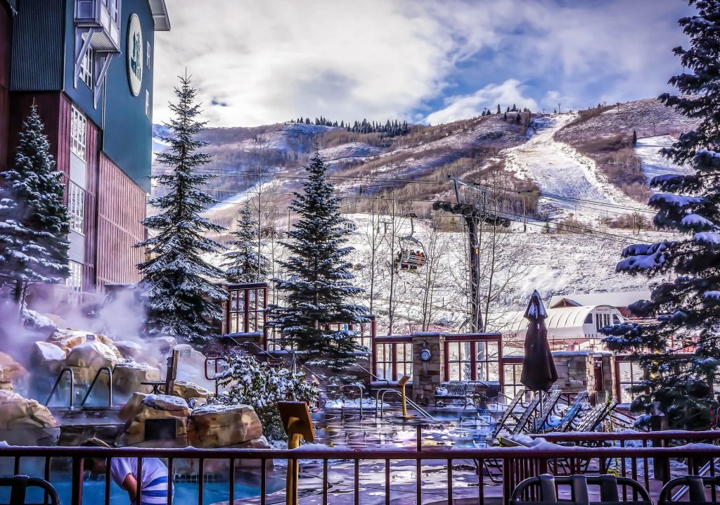 thanksgiving vacation ideas for families - park city ski slopes