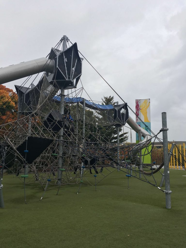 Fun Things to do in Seattle with Kids - Artists at Play Playground