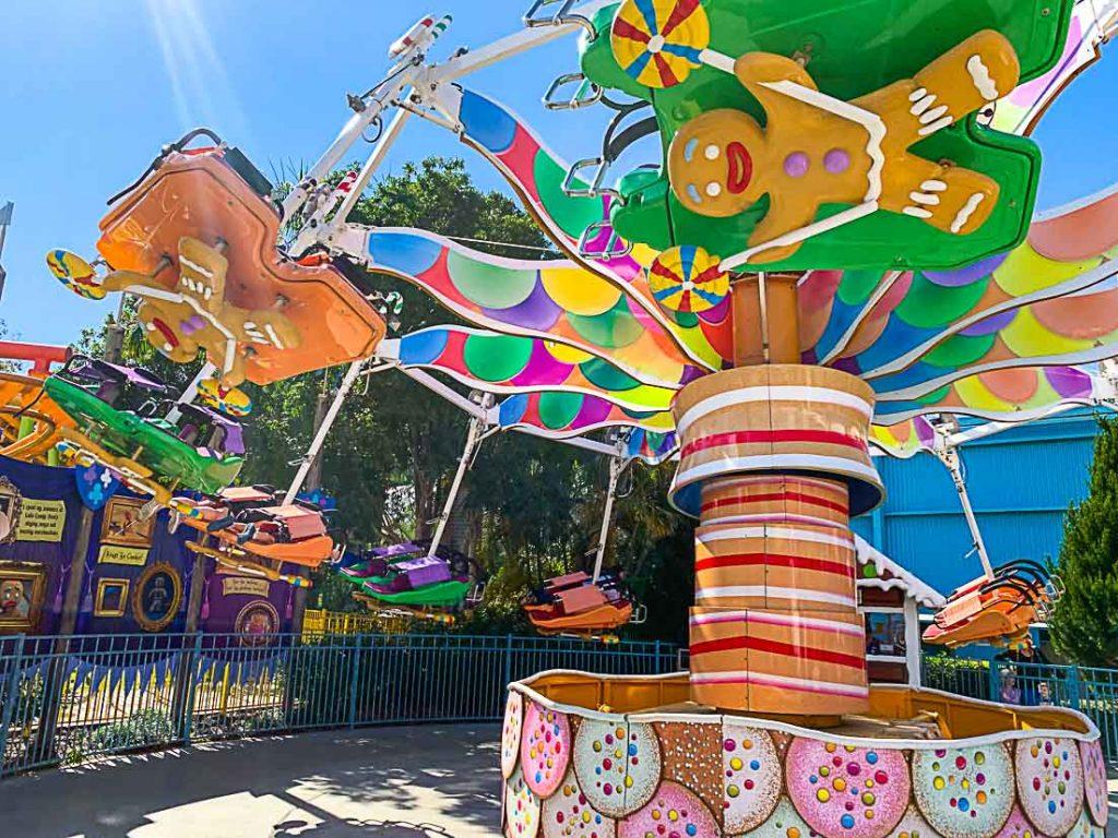 Dreamworld Theme Park - Brisbane with kids