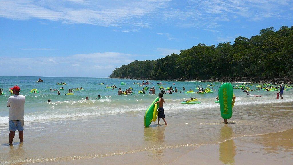Noosa Beach - Brisbane with Kids