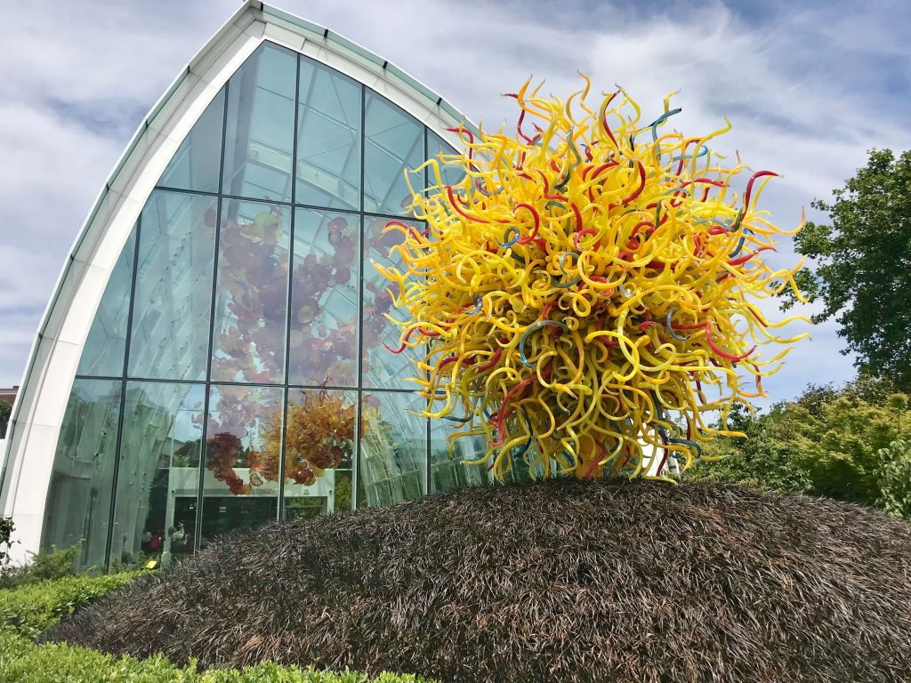 Kids Activities Seattle - Chihuly Garden and Glass