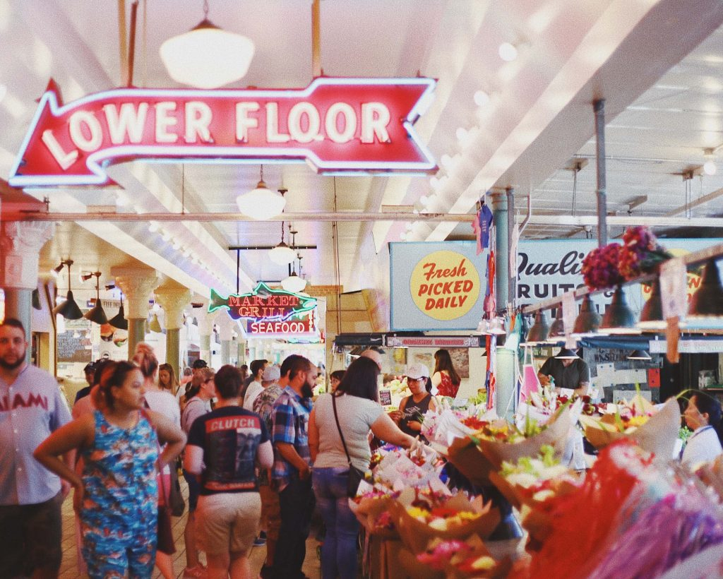 Free things to do in Seattle - Pike Market
