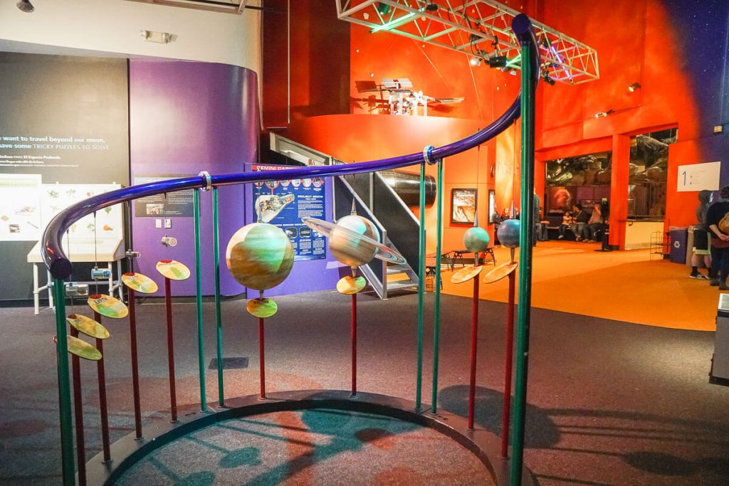 Things to do with toddlers in seattle - Seattle Center - Pacific Science Center