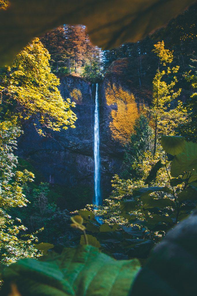 waterfalls in Portland Oregon