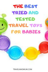 Baby Travel Toys Pins