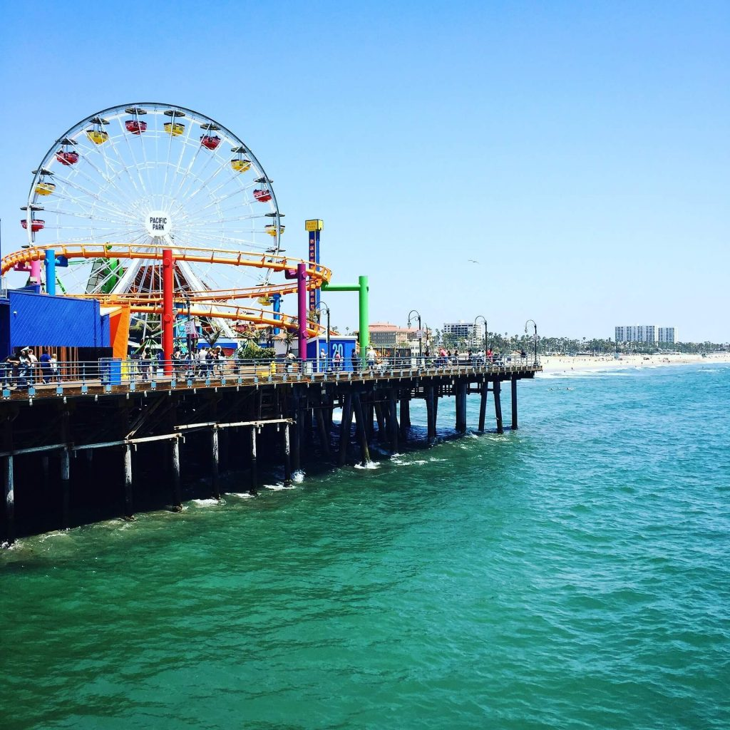 things for kids to do in los angeles - santa monica pier