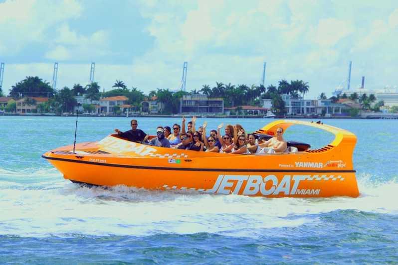 miami activities kids - jet boat tour