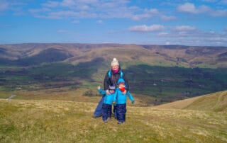 peak district with kids
