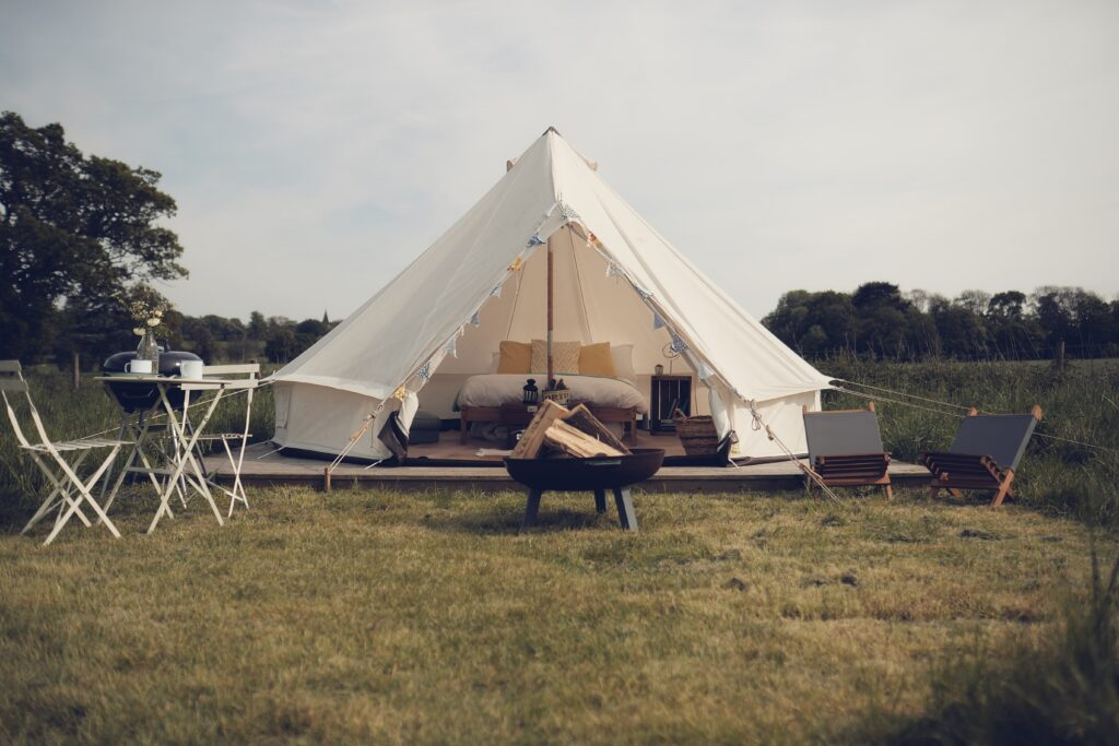 glamping near london - home farm glamping