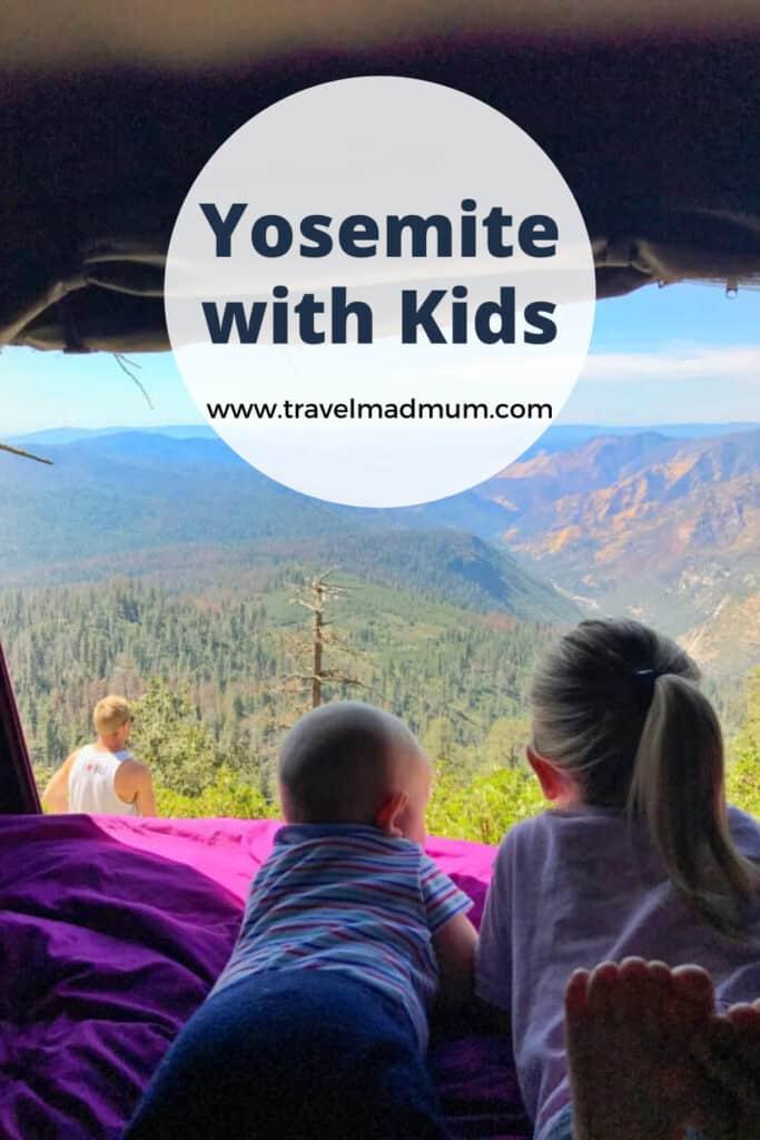 yosemite national park activities for kids