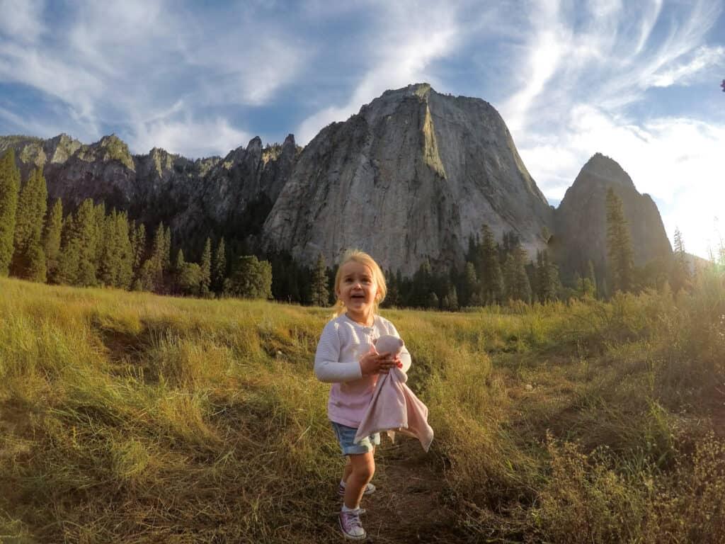 Yosemite with kids
