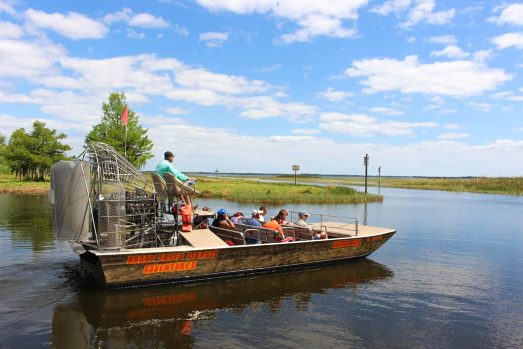 everglades with kids airboat